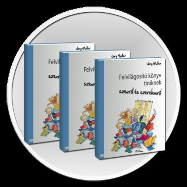 Felvilágosító könyv tiniknek 3 db