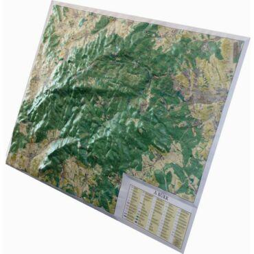 Bükk dombortérkép